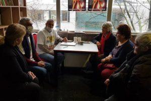 Koerdische journalisten bezochten hongerstakers in Den Haag